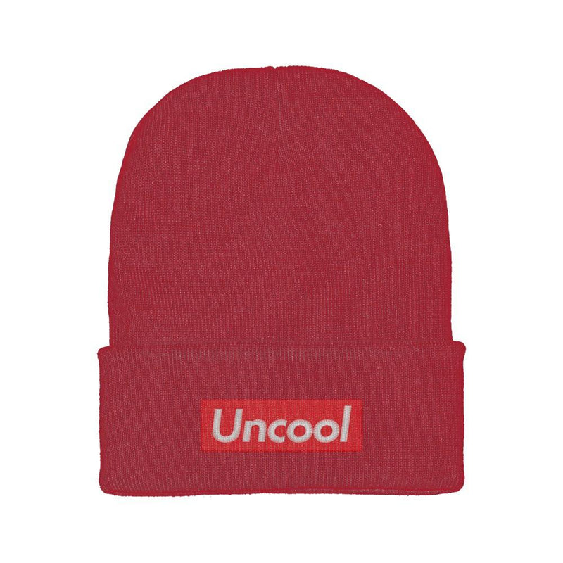 Supremely Uncool Embroidered Beanie