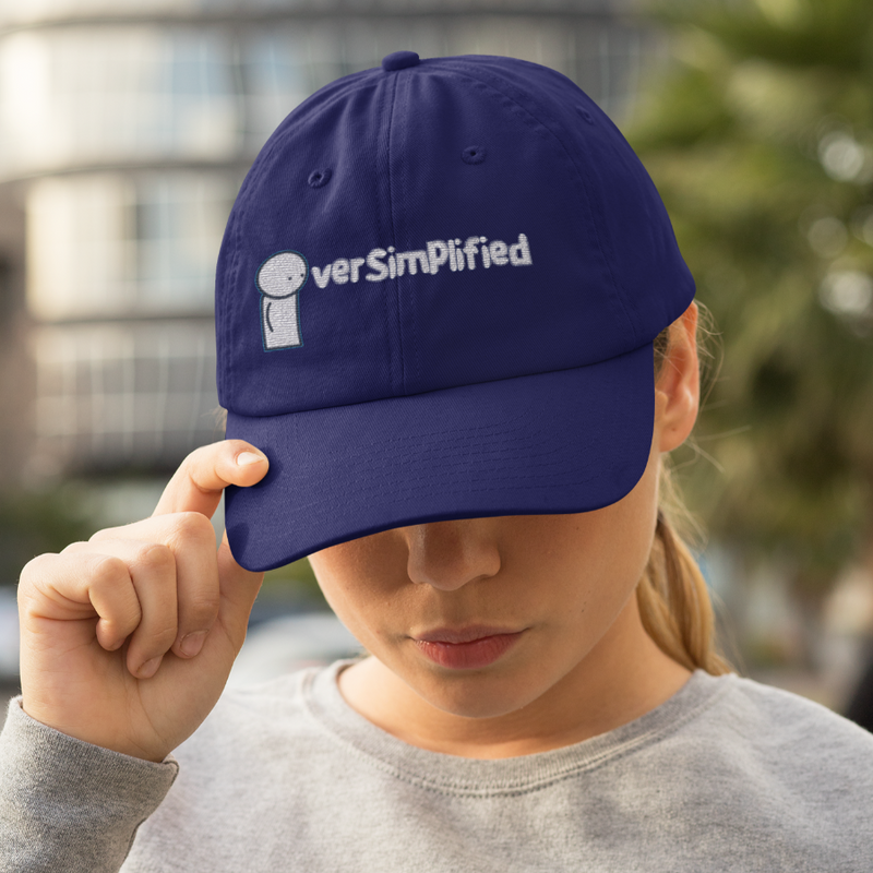 OverSimplified Logo - Embroidered Cap