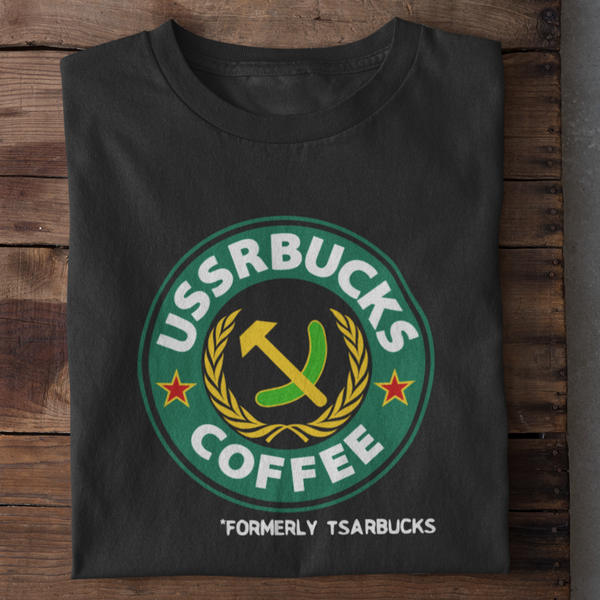 Formerly Tsarbucks Shirt (Dark Colors)