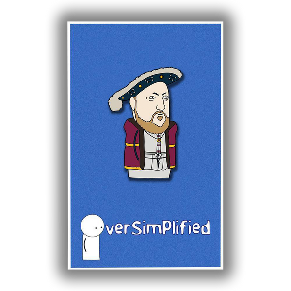 OverSimplified - Henry VIII Pin