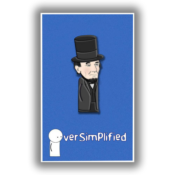 OverSimplified - Abraham Lincoln Pin