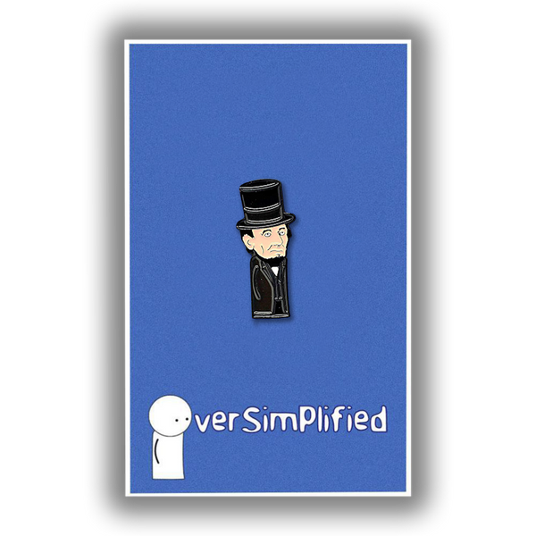 Limited Edition - Mini Abraham Lincoln Pin