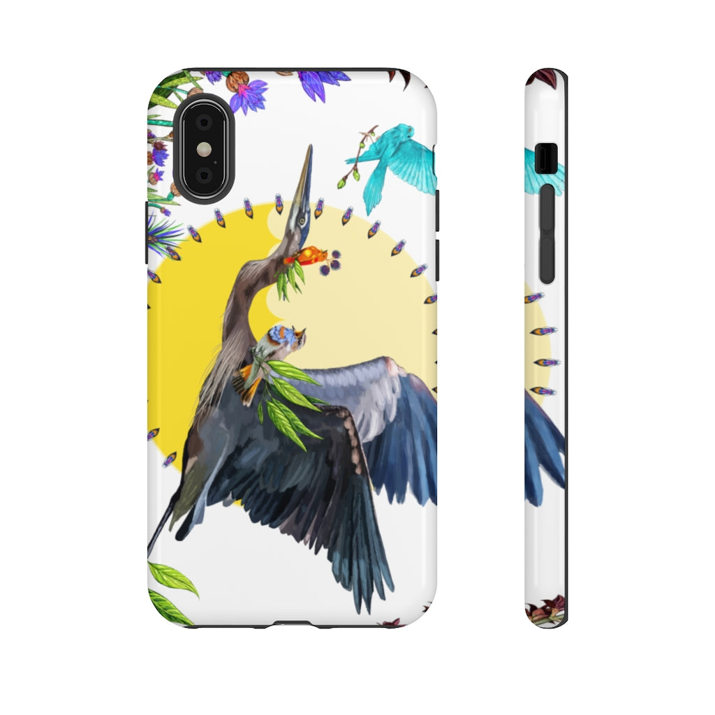 Tough Phone Case: Fiya Bruxa's Vuelo y Canto