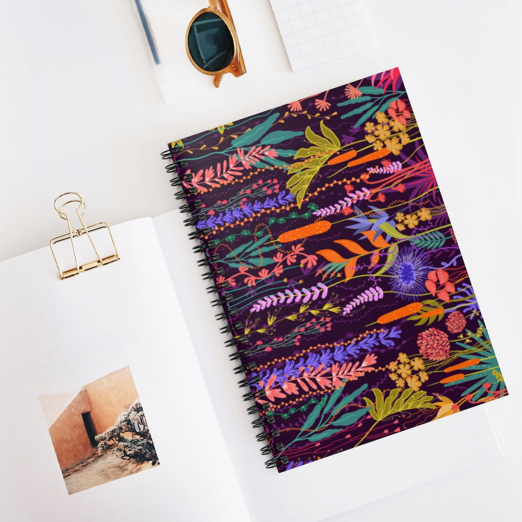 Spiral Notebook: Planta Muisca's Jungle Love