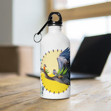 Load image into Gallery viewer, Stainless Steel Water Bottle: Fiya Bruxa's Vuelo y Canto