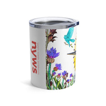 Load image into Gallery viewer, Tumbler 10oz: Fiya Bruxa's Vuelo y Canto