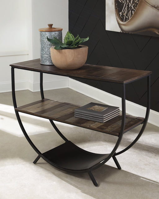 Lamoney Signature Design by Ashley Sofa Table image