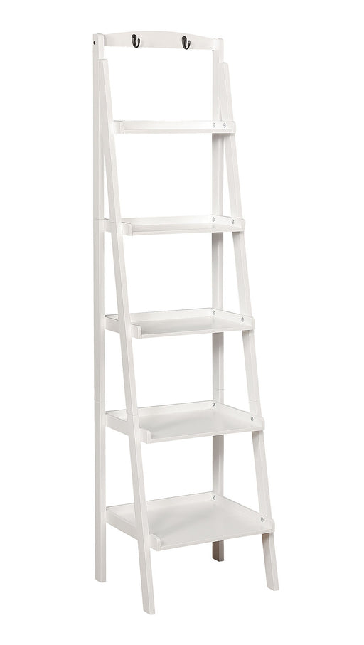 Theron White Ladder Shelf image