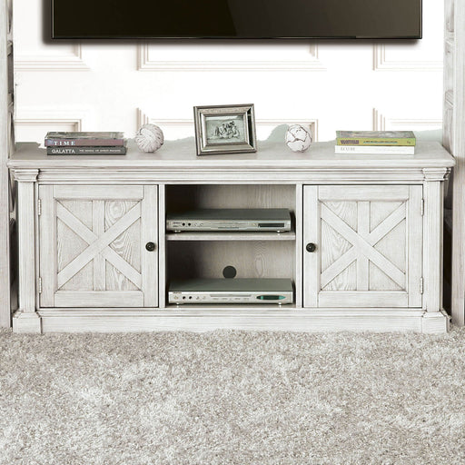 "Georgia Antique White 60"" TV Stand image"