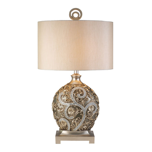 Estelle Champagne Silver Table Lamp image