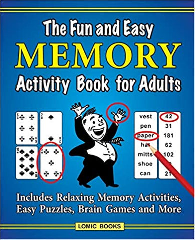 Buy the Fun and Easy Memory Activity Book for Adults - Sprightly