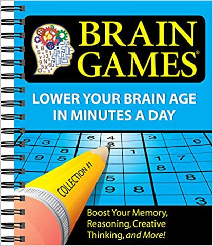 Buy Brain Games Collection Book On Sale - Sprightly