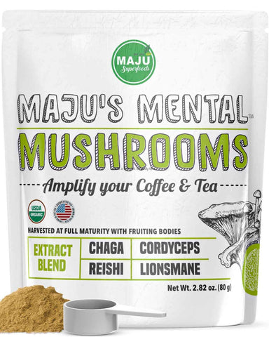 Buy the Brain Performance Supplements: Mushroom Powder - Sprightly