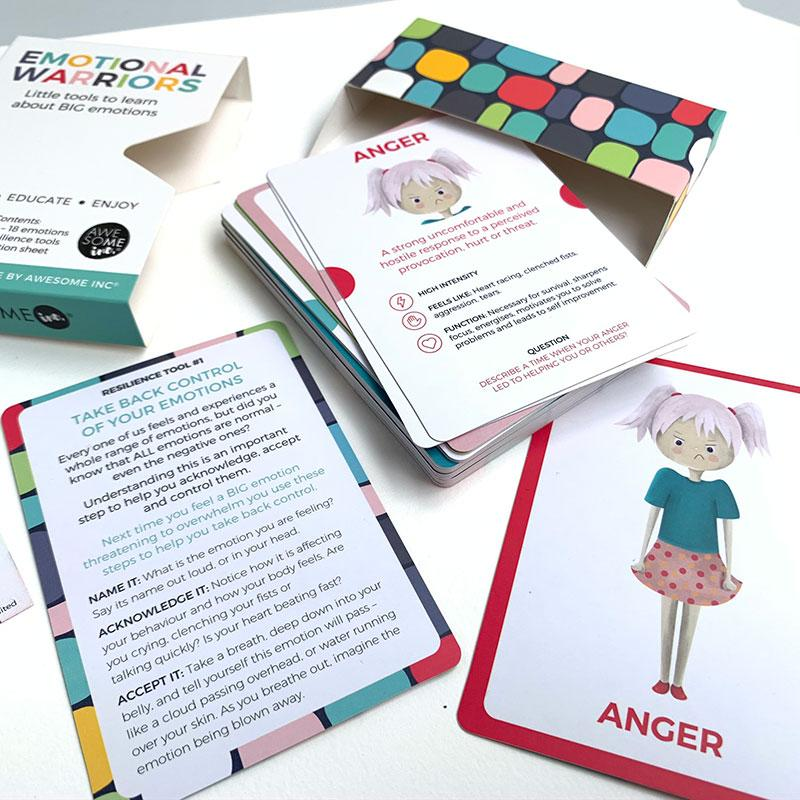 Emotional Warriors Card Game