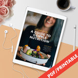 A Guide to Gentle Nutrition by Michelle Yandle [eBook]