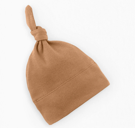 organic colored baby beanie