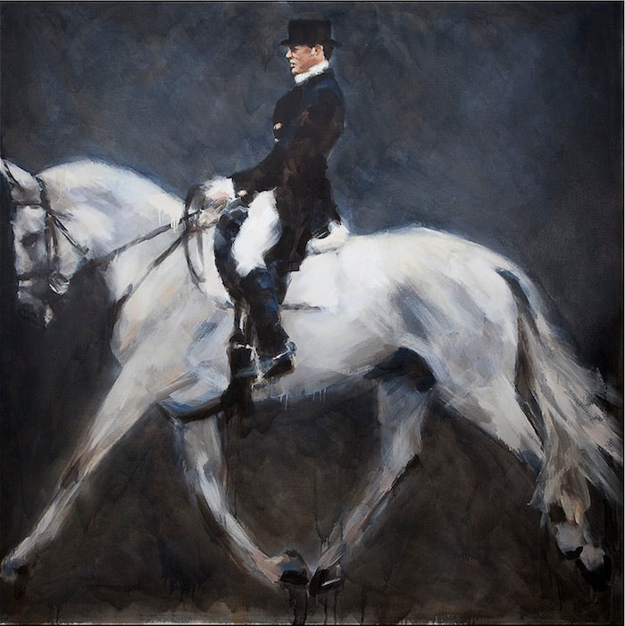 Marcos Terol | Contemporary equestrian expressionist