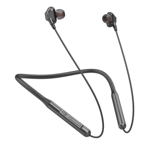 Dual driver wireless neckband
