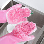 Magic latex cleaning gloves