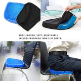 Cushion seat flex pillow