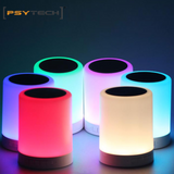 Portable LED Wireless Speaker with touch.