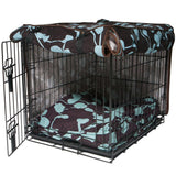 Your Hand in Mine Dog Crate Cover - Rocco's Pets  - Crate Cover  - Molly Mutt  - 2