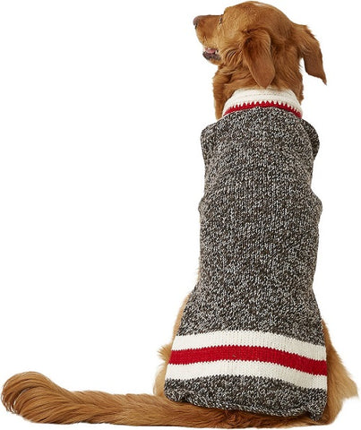 "Chilly Dog Handmade ""Boyfriend"" Organic Wool Dog Sweater"