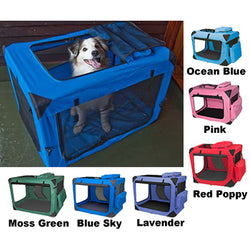 Pet Gear Generation II Soft Crate with Fleece Pad included!