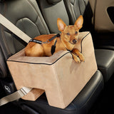 Pet Gear Dog Car Seat Booster Tan