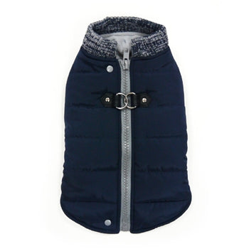 Dogo Pet Runner Coat Warm Insulated Navy