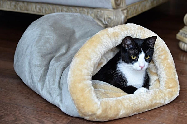 Armarkat Burrow Tube Pet Bed
