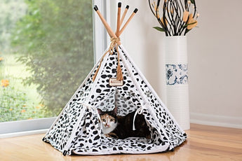 Armarkat Tee Pee Tent Pet Bed Cats & Dogs
