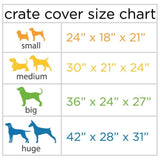 Molly Mutt Nightswimming Dog Crate Cover