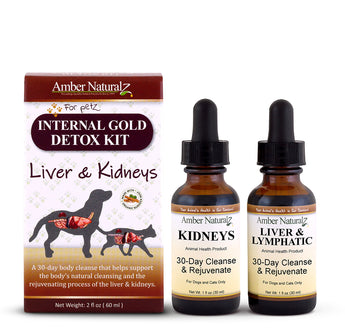 Internal Gold Detox Kit - Life Cell Support & Kidney Rejuvenation
