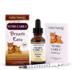 Numo Care C - Organic Asthma Pneumonia Bronchial Support for Cats