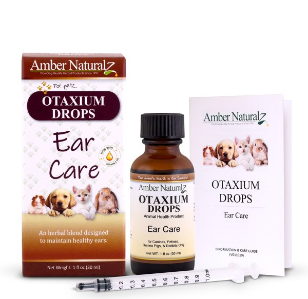Otaxium (Otalgia) Organic pet ear drops  for ear mites, infection & yeast