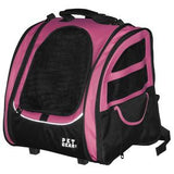 I-GO2 Traveler - 5 in 1 Pet Carrier - Rocco's Pets  - Carriers - Pet Gear Pink / I-GO2 Traveler - 5
