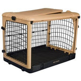 "Deluxe Steel Crate ""The Other Door®"" Tan - Rocco's Pets  - Crate - Pet Gear  - 2"