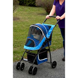 SPORT Pet Stroller - Up to 20 lbs - Rocco's Pets  - Strollers - Pet Gear Sport Blue - 2