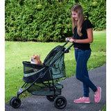 Special Edition NO-ZIP Pet Stroller - Up to 30 lbs - Rocco's Pets  - Strollers - Pet Gear Sage - 2