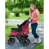 AT3 All Terrain NO-ZIP Pet Stroller - Up to 60 lbs