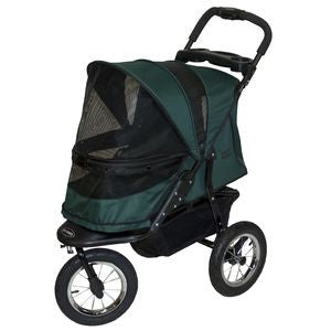 Jogger NO-ZIP Pet Stroller - Up to 70 lbs - Rocco's Pets  - Strollers - Pet Gear Forest Green - 2