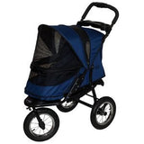 Jogger NO-ZIP Pet Stroller - Up to 70 lbs - Rocco's Pets  - Strollers - Pet Gear Midnight River - 3