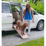 Short Bi-Fold Pet Ramp - Carpeted - Up to 200 lbs. - Rocco's Pets  - Ramps - Pet Gear Default - 1