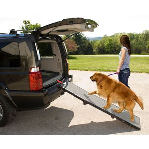 Full Length Tri-Fold Pet Ramp - Up to 200 lbs - Rocco's Pets  - Ramps - Pet Gear Default - 1