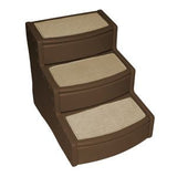 "Easy Step - Pet Stair Extra Wide  20"" - Rocco's Pets  - Steps - Pet Gear Large - Up to 200lbs. 3 Steps / Chocolate - 3"
