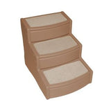 "Easy Step - Pet Stair Extra Wide  20"" - Rocco's Pets  - Steps - Pet Gear Large - Up to 200lbs. 3 Steps / Tan - 4"