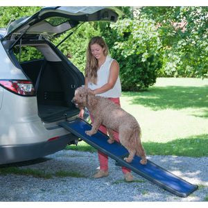 Full Length Bi-Fold Full Ramp - Up to 150 lbs. - Rocco's Pets  - Ramps - Pet Gear Default - 1