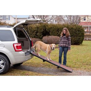 Lighweight Portable Folding Pet Ramp for SUV and Cars - Rocco's Pets  - Ramps - Pet Gear Default - 1