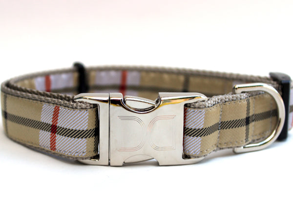 Barkley Adjustable Ribbon Dog Collar